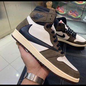 Jordan 1 Travis Scott Nike Cactus Jack Brown 13